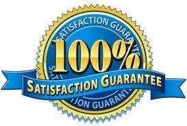 100% Satisfaction Guaranteed!!!